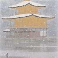 雪の金閣寺 6号